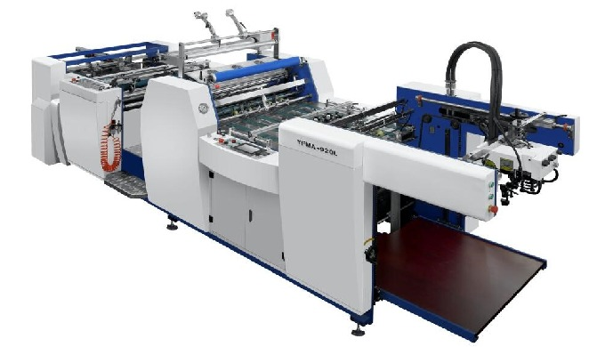 Features: YFMA-L series fully automatic laminators are our newly designed thermal film lamination ma...