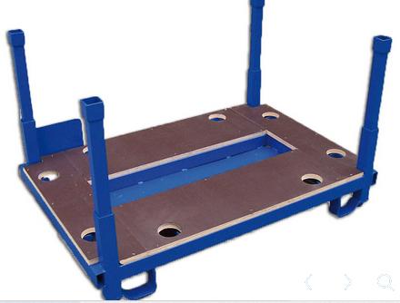 Maßgeschneiderte Rungenpaletten Unsere flexible Produktion ermöglicht eine individuelle Fertigung zu...