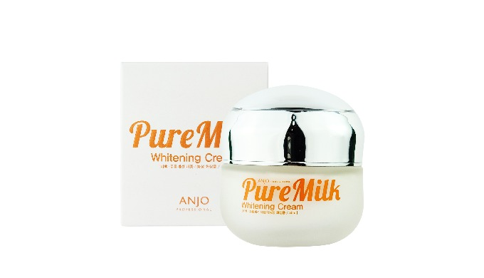 ANJO PURE MILK WHITENING CREAM