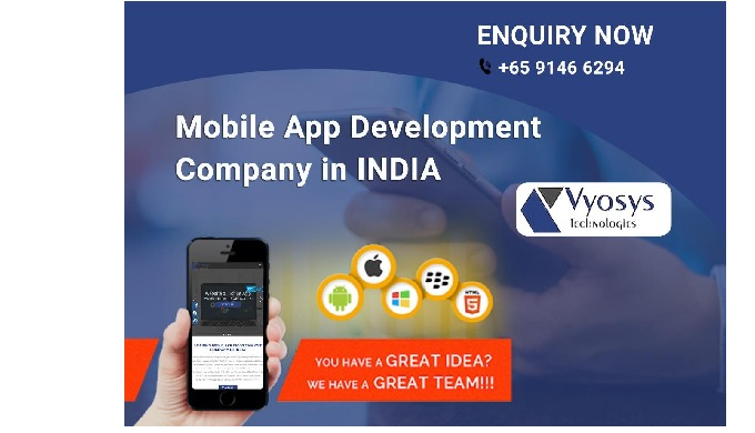 Vyosys is one of leading professional Mobile App Development Company in India & Singapore. We provid...