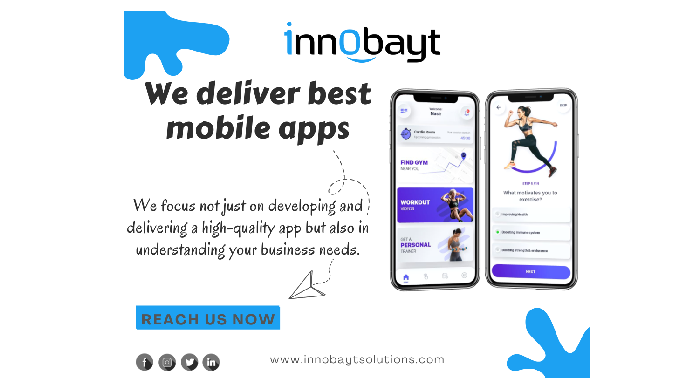 Innobayt offers the best mobile app development services in Dubai. Our highly skilled mobile app dev...