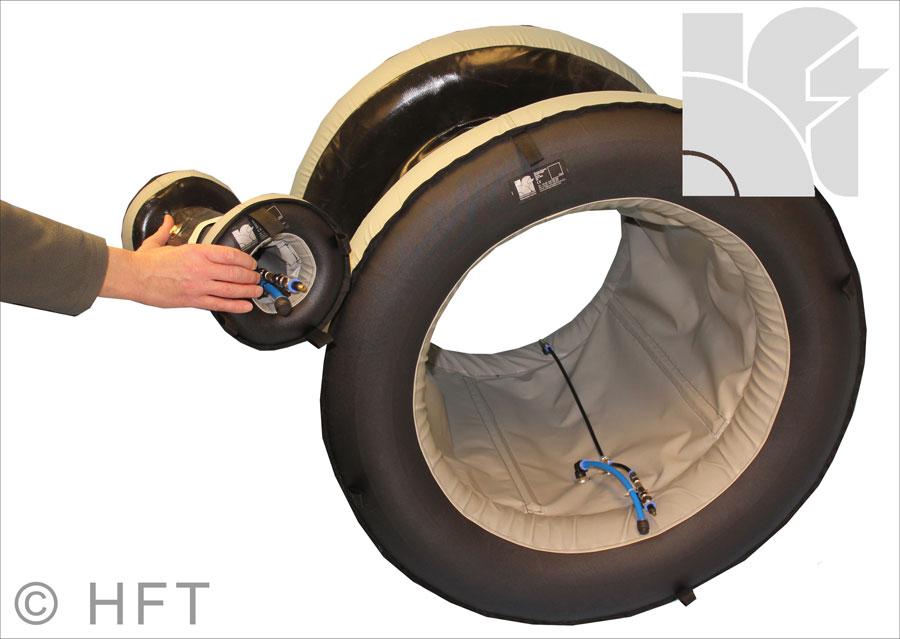 Disponible de 150 mm à 2 400 mm de diamètre, ce système d'inertage rapide permet de réduire le temps...
