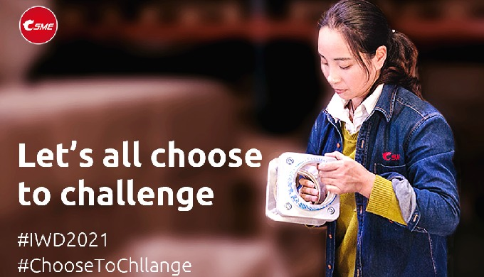 During difficult times, let's all choose to challenge!