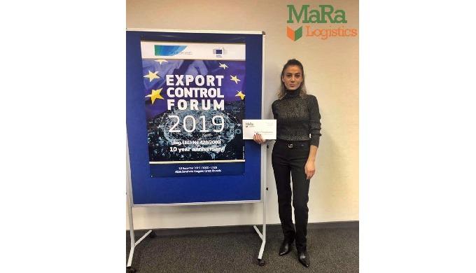 Echipa Ma.Ra Logistics a participat la Export Control Forum 2019, Bruxelles