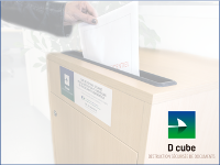 Cube sécurisé de stockage