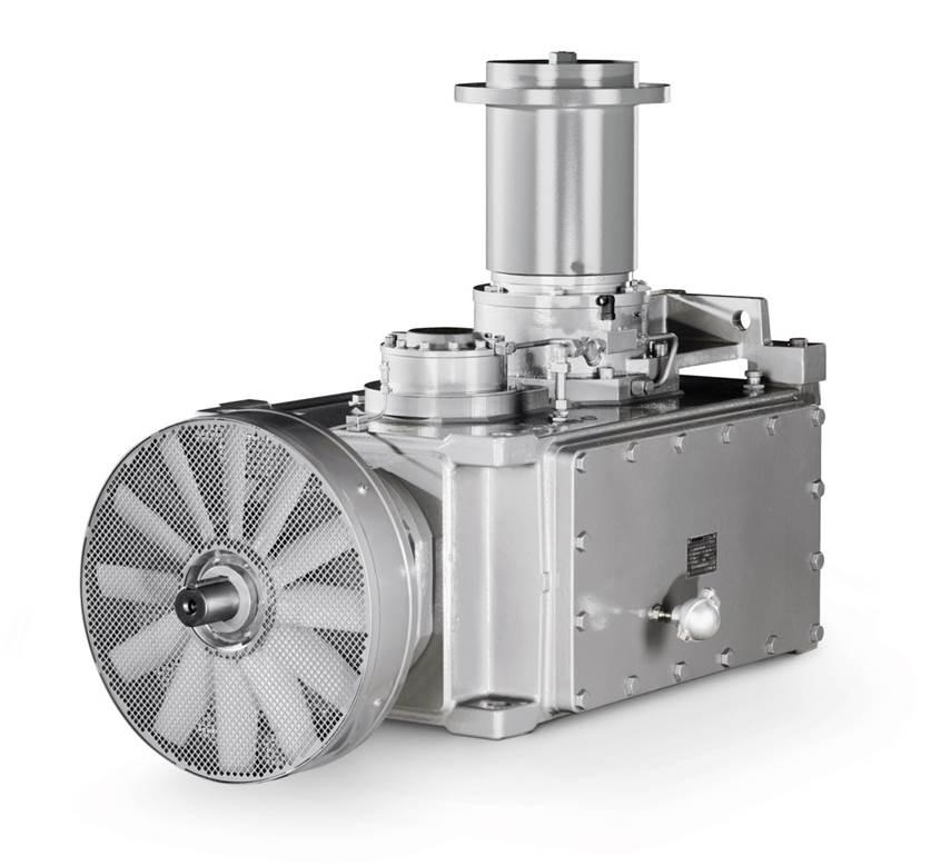 Kegelradgetriebe / schrägverzahnt / Winkelumlenkung / für Kühlturm