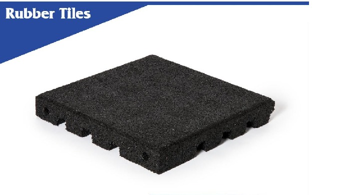 Thick gym mats – recycled rubber flooring are popular used nowadays due to high level of shock absor...