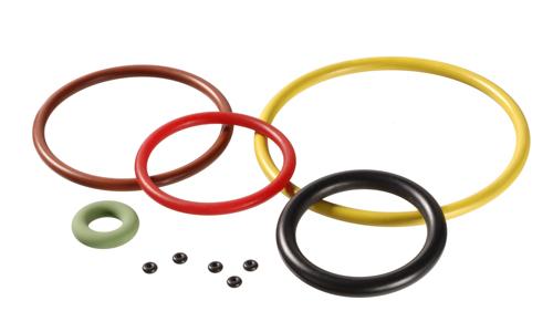 Endlose Runddichtringe mit kreisförmigem Querschnitt: O-Ringe zählen zu den Dichtungsklassikern schl...