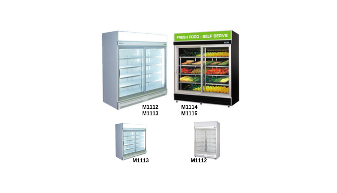 The Artisan Commercial Upright Fridges are the perfect solution for every food refrigeration display...