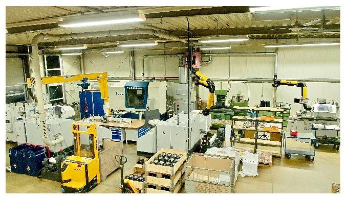 CNC-Schleifen von Metall; Lohnarbeit