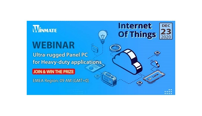 [Winmate Webinar] IIoT in Action: Find Out Edge-to-cloud Connectivity Solutions
