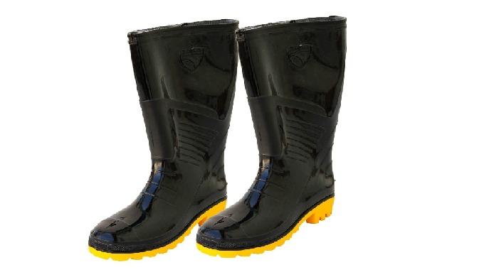 Image01: Bottes en caoutchouc - CCS3223-1 Bottes de protection en caoutchouc Image02: Chaussure de s...