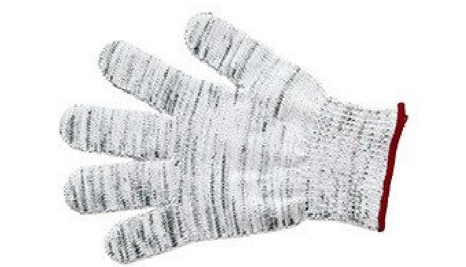 Protective gloves for mechanical engineering, sheet metal handling