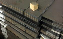 Varmtvalsede stålplader S235