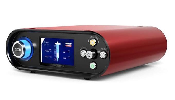 Pneumatic correction dispenser