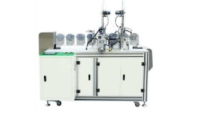 KN95 Semi auto mask ear line machine 1:Dimension2100mm*800mm*1650mm 2:Input Voltage:220v 50-60HZ 3:P...