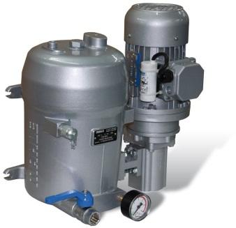 Boční filtrace olejových okruhů Filtrační jednotka pro boční filtraci s vlastním čerpadlem a adsorbč...