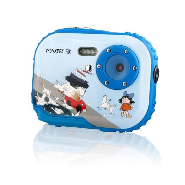 Foťák disponuje CMOS senzorem s rozlišením 3 Mpx ale dokáže ze sebe vydolovat i fotografie s rozliše...