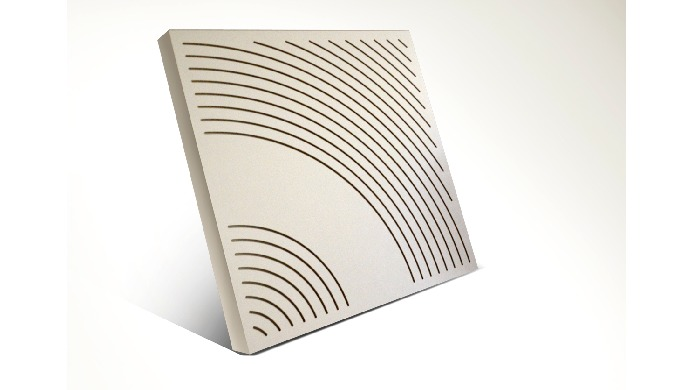 WavO perforated acoustic wall panel with its exquisite design gives an excellent indication for soun...