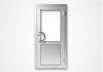 Enkeldörr eller dubbeldörr. Sidoljus och/eller överljus. Helt eller delvis glasad eller fylld.Glas: ...