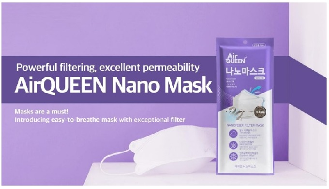 Air Queen Nano Mask | nano masks