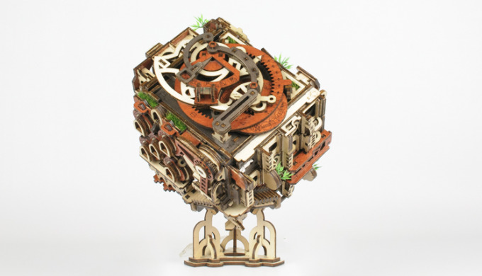 ¡Una caja de rompecabezas rara y desafiante!