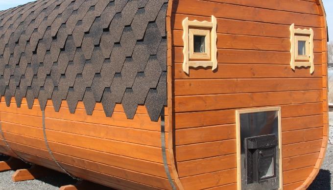 Velká kvádrová sauna se saunovacím prostorem 2,15 m, sprchou a odpočívárnou s prostorem 2,15 m Obsah...