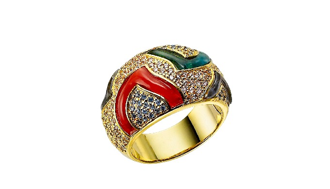 DJ RING_Luxury Art Jewellery