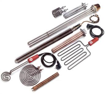 Son elementos calefactores blindados en tubo ( de inox,cobre, titanio,…)con distintas formas y sujec...