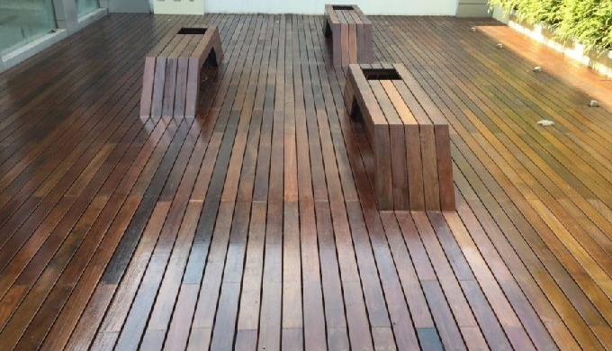 Brazilian Walnut decking, often called Ipé, is a beautiful exotic wood from South America. Typically...