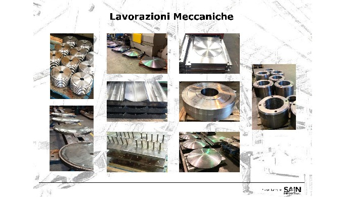 Portfolio : Lavorazioni Meccaniche