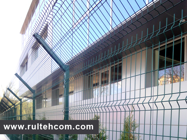Gard metalic, garduri, eurogard, panou gard bordurat