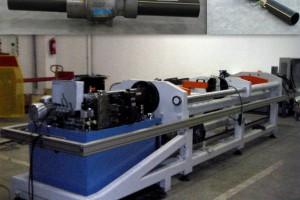 Protección prensa PTV Protección para prensa hidráulica con perfilería aluminio y cierres con enclav...