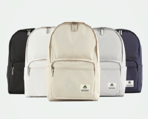 LECCPOOM Simple backpack is a standard line design bag that anyone can use easily and comfortably Th...