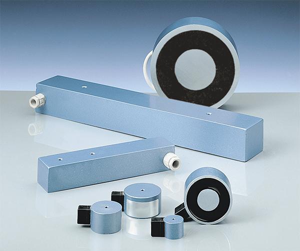 Pots et barres électro-magnétiques