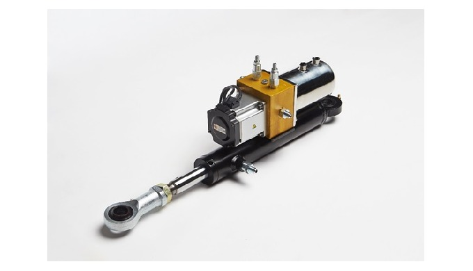 2_Elector-Hydraulic Secondary Steering Linear Actuator l Ship accessory