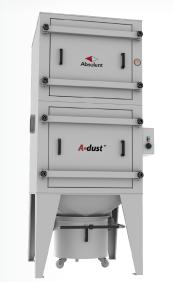 Absolents A•dust är ett anvancerat torrstoftfilter med följande användningsområden: Svetsning Laser-...