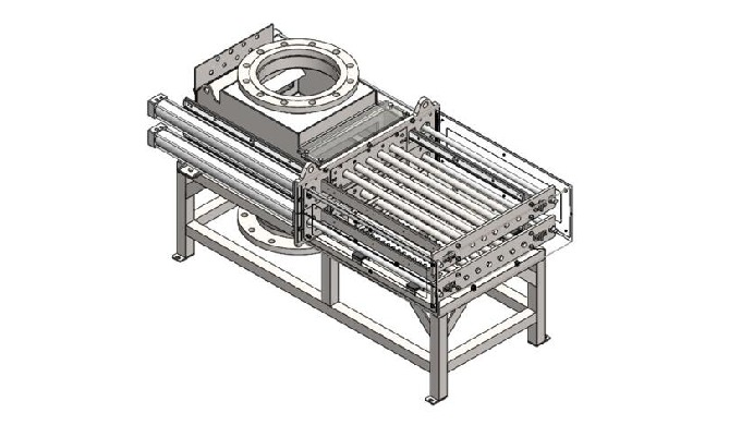 Programmed Self-cleaning Grate Magnetic Separator Program Controlled Automatic Grate Magnet Separato...