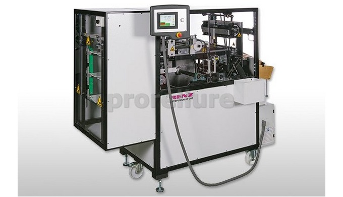 Perforeuse RENZ AP 360 Perforeuse hautes performances, entièrement automatique, idéale pour une prod...