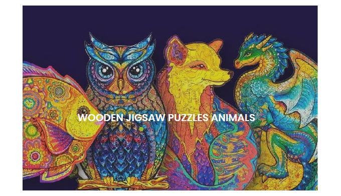 Unidragon - Wooden Jigsaw Puzzles