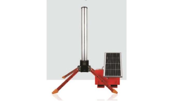 Portable type Environmental Radiation Monitoring System(Tragbares Überwachungssystem für Umweltstrahlung)