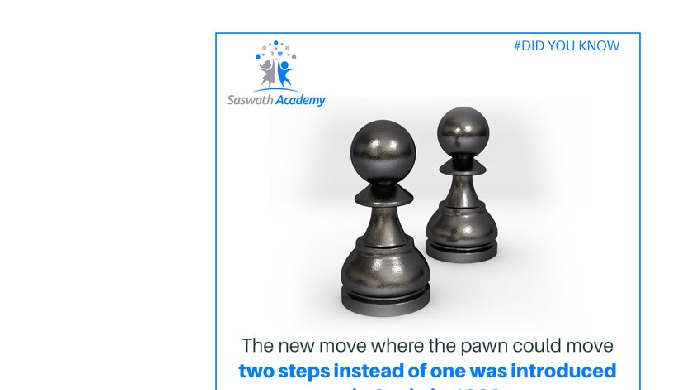 SaswathAcademy has a syllabus based Online chess classes for kids. With the help of professional gui...