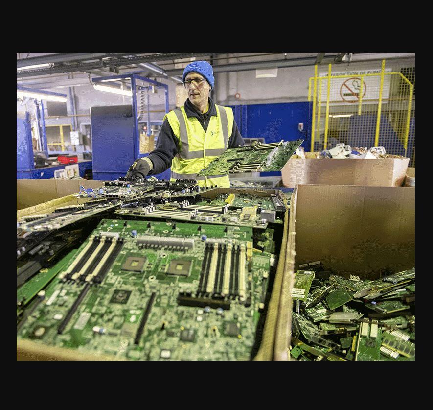 Paprec D3E : Solutions pour vos déchets d'équipements électroniques et électriques