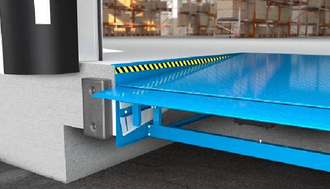 Die neue hydraulische Überladebrücke mit Vorschub bringt Ihrem Unternehmen deutlichen Vorsprung