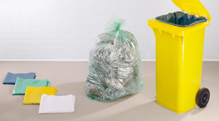 div. Grössen Premium-Polyethylen-LD: Umweltfreundlich, da aus 100% Recycling-Hochdruckpolyethylen he...