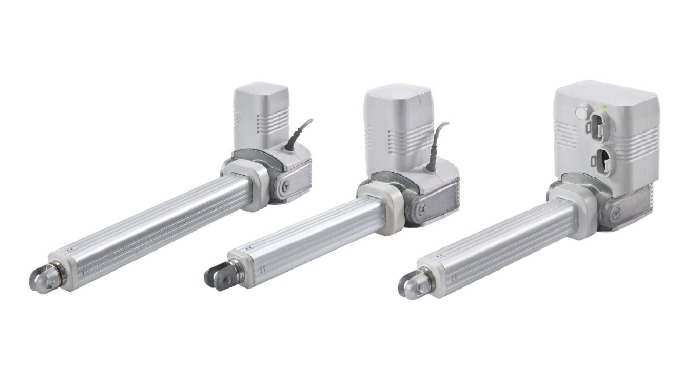 Matrix linear actuators