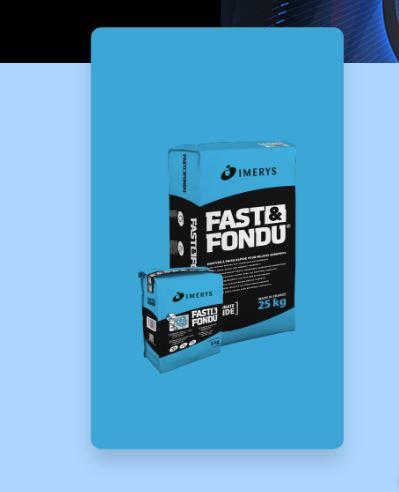 FAST & FONDU®, mortier à prise rapide pour milieux agressifs