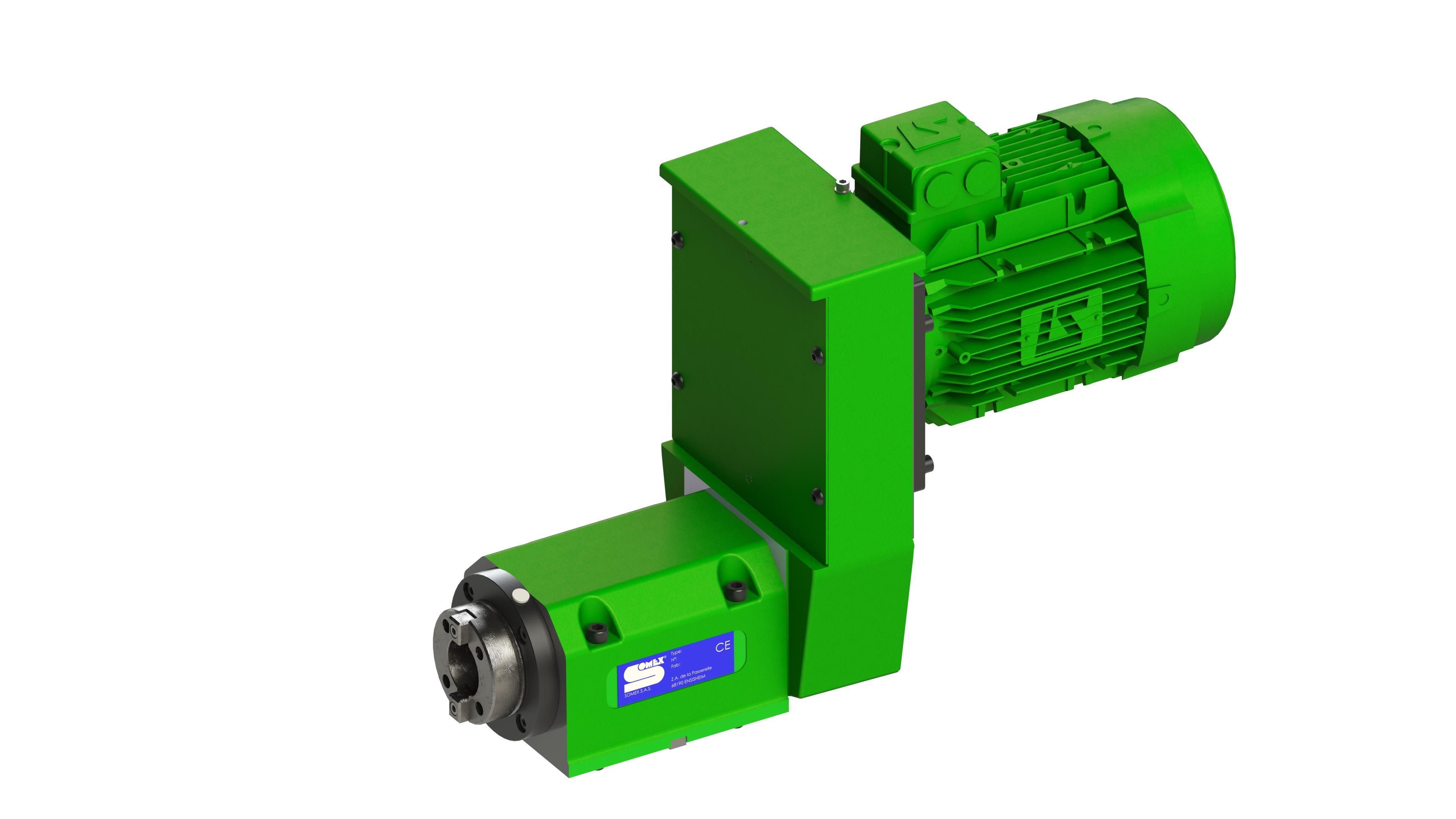 Nez de broche : SA40 DIN2079 ou HSK 63 pour porte-outils suivant DIN69893 forme A ou C Flasque : rac...
