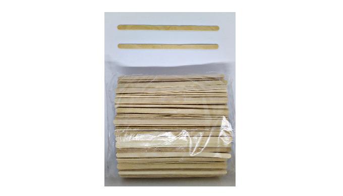 Wooden Stir Stick Set dimensions 140*6*1.2 mm, 500 pcs/set
