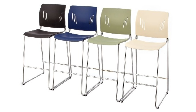 ACE-05HC is ACE series barstool, featuring stylish shape, ergonomic back design and 8 colors. The ba...